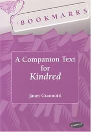 Cover of: A companion text for Kindred