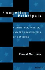 Cover of: Competing Principals