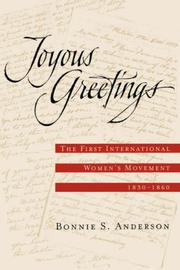 Cover of: Joyous Greetings | Bonnie S. Anderson