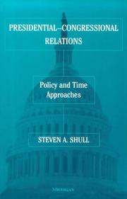 Cover of: Presidential-Congressional Relations