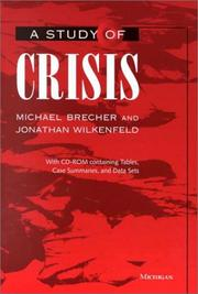 Cover of: A study of crisis