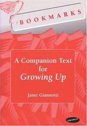 Cover of: A companion text for Growing up
