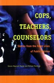 Cover of: Cops, Teachers, Counselors