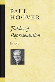 Cover of: Fables of representation: essays