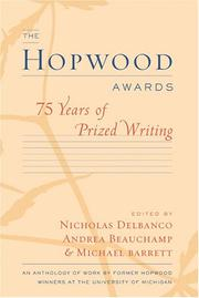 Cover of: The Hopwood awards |