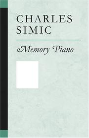 Cover of: Memory piano