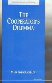 Cover of: The cooperator