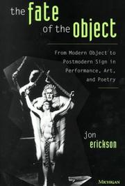 Cover of: The fate of the object