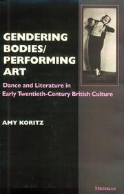 Gendering bodies/performing art