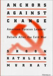 Cover of: Anchors against Change