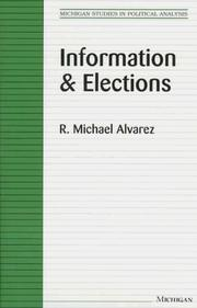 Cover of: Information and elections