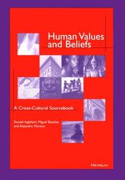 Cover of: Human values and beliefs