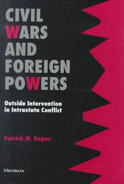 Cover of: Civil Wars and Foreign Powers