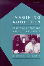 Cover of: Imagining adoption |