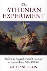 Cover of: The Athenian Experiment | Greg Anderson