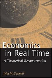 Cover of: Economics in Real Time | John Francis McDermott