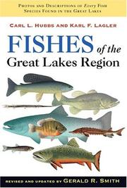 Cover of: Fishes of the Great Lakes region