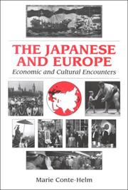 Cover of: Japanese and Europe | Marie Conte-Helm