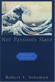 Cover of: Not Passion's Slave