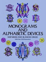 Cover of: Monograms and alphabetic devices