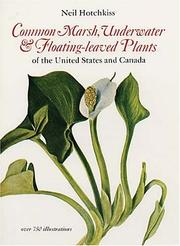 Cover of: Common marsh, underwater, and floating-leaved plants of the United States and Canada. | Neil Hotchkiss