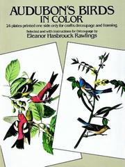 Cover of: Audubon's birds in color for decoupage