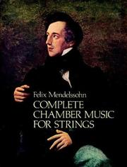 Cover of: Complete Chamber Music for Strings