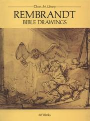 Cover of: Rembrandt Bible Drawings
