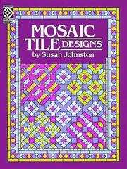 Cover of: Mosaic Tile Designs