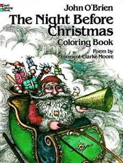 Cover of: The night before Christmas coloring book | O