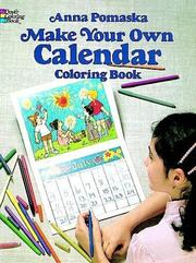 Cover of: Make Your Own Calendar Coloring Book