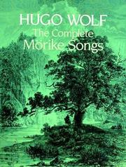 Cover of: The Complete Morike Songs