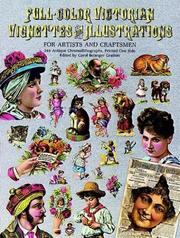 Cover of: Full-color Victorian vignettes and illustrations for artists and craftsmen |
