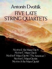 Cover of: Five Late String Quartets