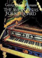 Cover of: The 36 Fantasias for Keyboard