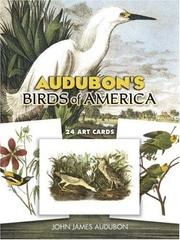 Cover of: Audubon's Birds of America Postcards: 24 Full-Color Ready-to-Mail Cards (Card Books)
