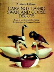 Carving classic swan and goose decoys by Anthony Hillman