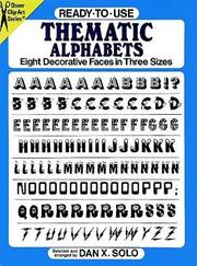 Cover of: Ready-to-Use Thematic Alphabets
