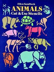 Cover of: Animals Cut & Use Stencils