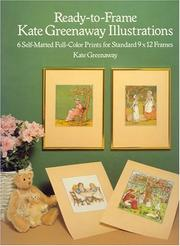 Cover of: Ready-to-Frame Kate Greenaway Illustrations