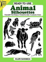 Cover of: Ready-to-Use Animal Silhouettes (Clip Art)