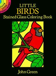 Cover of: Little Birds Stained Glass Coloring Book