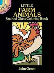 Cover of: Little Farm Animals Stained Glass Coloring Book
