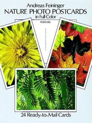 Cover of: Nature Photo Postcards in Full Color