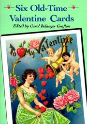 Cover of: Six Old-Time Valentine Cards
