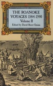 Cover of: The Roanoke voyages, 1584-1590