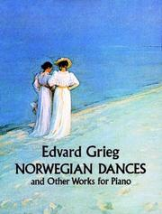 Cover of: Norwegian Dances and Other Works
