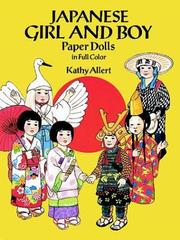 Cover of: Japanese Girl and Boy Paper Dolls in Full Color