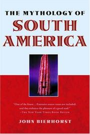 Cover of: The mythology of South America