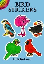 Cover of: Bird Stickers